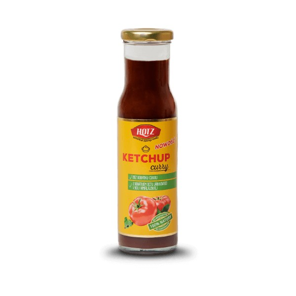 KETCHUP CURRY 280 G