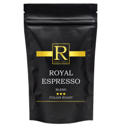 KAWA ROYAL ESPRESSO - ZIARNISTA 100G