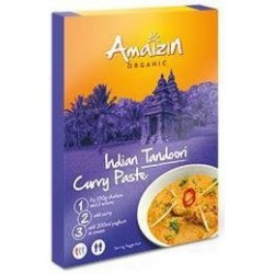 PASTA CURRY INDIAN TANDOORI ORGANIC 80 g