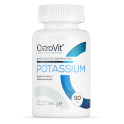 POTASSIUM 90 TABLETEK - POTAS OSTROVIT