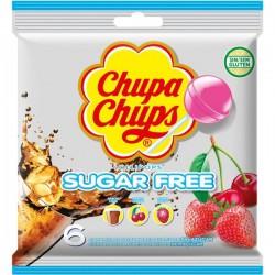 CHUPA CHUPS SUGAR FREE - 10 x 11g