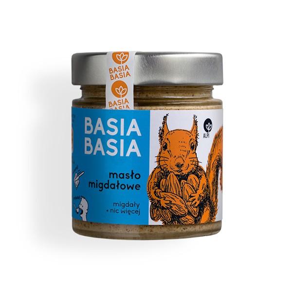 MASŁO MIGDAŁOWE Basia Basia 195 g