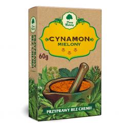 CYNAMON CEJLOŃSKI MIELONY 60g /MER