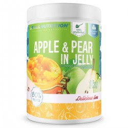 APPLE & PEAR IN JELLY 1KG - OWOCE JABŁKA Z GRUSZKĄ W ŻELU