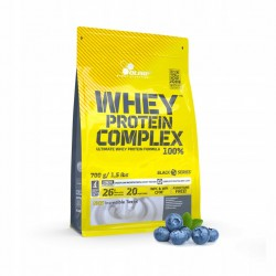 WHEY PROTEIN COMPLEX SMAK: JAGODOWY 100% 700g