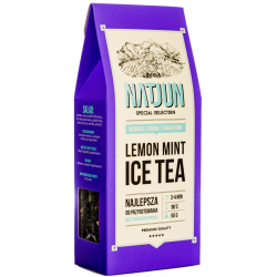 LEMON MINT ICE TEA- HERBATKA CZARNA Z DODATKAMI 50g